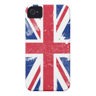 Grunge Union Jack Flag Blackberry Case