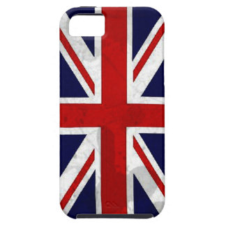 Grunge Union Jack Flag iPhone 5 Cover