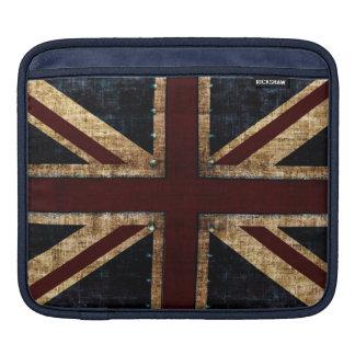 Grunge Union Jack i-pad case