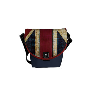 grunge Union Jack small bag Commuter Bag