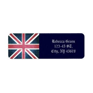 Grunge United kingdom british union jack flag