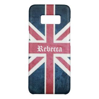 Grunge United kingdom british union jack flag Case-Mate Samsung Galaxy S8 Case