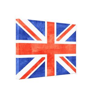 Grunge United Kingdom Flag Canvas Print