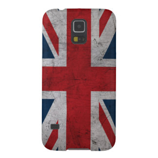 Grunge United Kingdom Flag Case For Galaxy S5