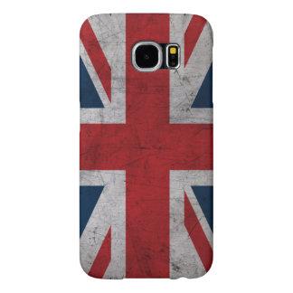 Grunge United Kingdom Flag Samsung Galaxy S6 Cases