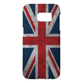 Grunge United Kingdom Flag Samsung Galaxy S7 Case