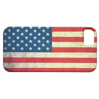 Grunge USA Flag iPhone 5 Case