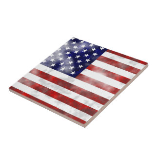 Grunge USA Tile