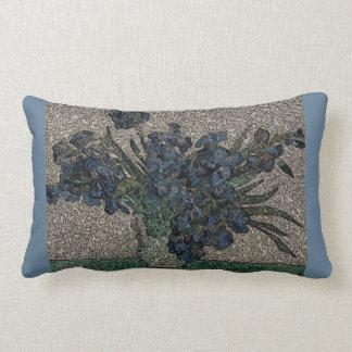 Grunge Van Gogh Lumbar Pillow