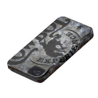 grunge vintage rustic western country cowboy rodeo Case-Mate iPhone 4 case