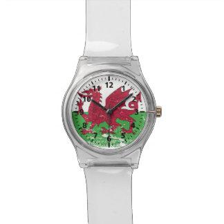Grunge Wales Flag Watch