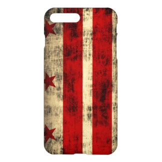 Grunge Washington DC Flag iPhone 7 Plus Case