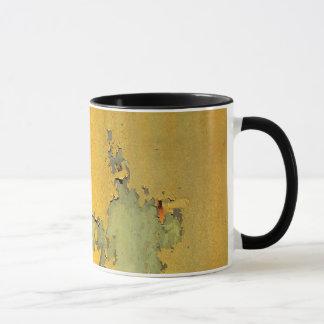 Grunge Yellow Coffee Mug