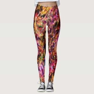 Grunged Clouds Leggings