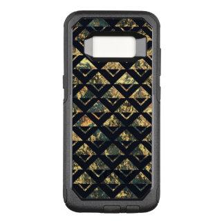 GrungeMetal Abstract Argyle Black Gold Green OtterBox Commuter Samsung Galaxy S8 Case