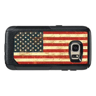Grungy American Flag USA OtterBox Samsung Galaxy S7 Case