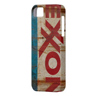 Grungy, Beaten up and Rusty Exxon Sign Case For The iPhone 5