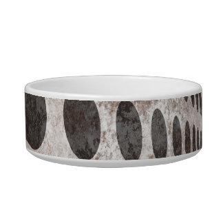 Grungy Dots Design Pet Bowl