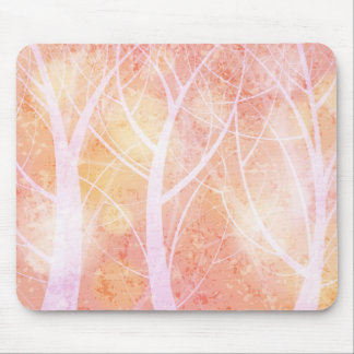Grungy forest mousepad