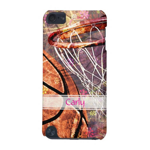 Grungy Girly Basketball iPod Touch (5th Generation) Cover