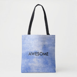 Grungy Golden Gray Blue White Paining Sucess Tote Bag