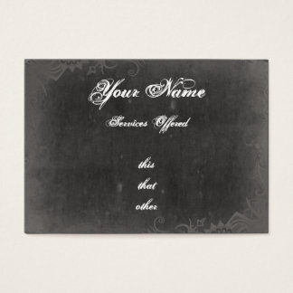 Grungy, Gothic Style Business cards
