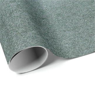 Grungy Gray Teal Graphite Glass Ice Vip Wrapping Paper