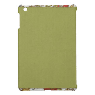 Grungy Green with Flower Edge iPad Mini Case