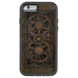 Grungy Industrial Steampunk Machine Tough Xtreme iPhone 6 Case