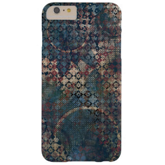 Grungy Patterns with Messy Patchwork of Textures Barely There iPhone 6 Plus Case