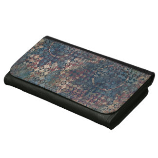Grungy Patterns with Messy Patchwork of Textures Wallets