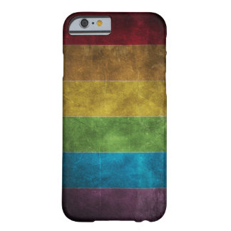 Grungy Rainbow iPhone 6 case Barely There iPhone 6 Case