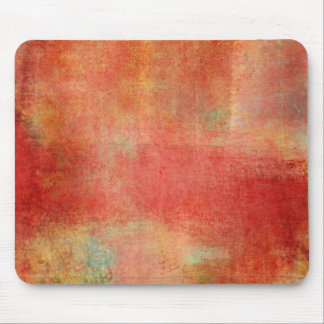 Grungy Red Paint Collage Mouse Pads