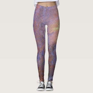 Grungy Rusty Old Metal becomes Nature's Tie Dye Leggings