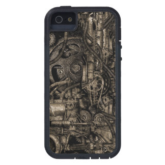 Grungy Steampunk Machinery Case For The iPhone 5
