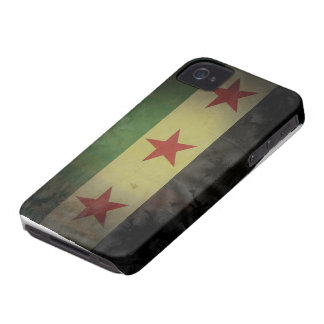 Grungy Syria Flag Case-Mate iPhone 4 Case