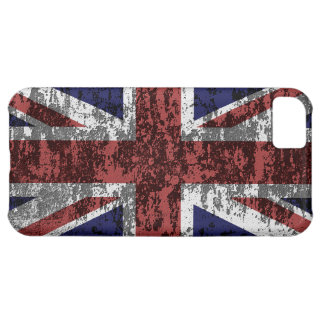 Grungy Union Jack Flag iPhone 5C Covers