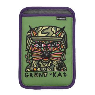 """Grunt Kat"" iPad Mini Soft Case"