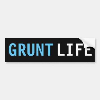 Grunt Life Bumper Sticker