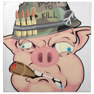 GRUNT PIG CLOTH NAPKINS