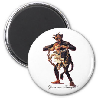 Gruss vom (Greetings From) Krampus Magnet
