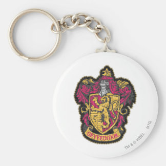 Gryffindor Crest Basic Round Button Keychain