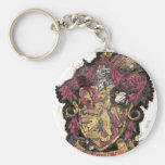 Gryffindor Crest - Destroyed Keychains