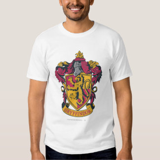 Gryffindor Crest Gold and Red T-shirts
