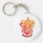 Gryffindor Crest - Splattered Key Chain