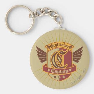 Gryffindor QUIDDITCH™ Captain Emblem Basic Round Button Keychain