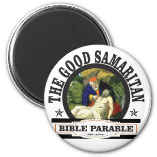 gs painted bible parable 2 inch round magnet