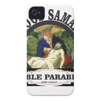 gs painted bible parable iPhone 4 Case-Mate case