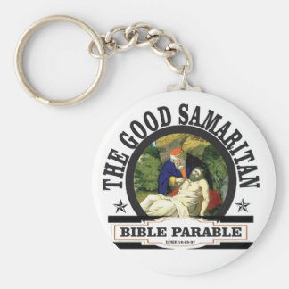 gs painted bible parable keychain