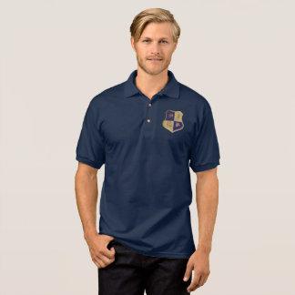 GSA House Crest No Wings Blue Gold Polo Shirt